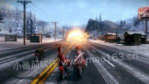 mac游戏下载 暴力摩托 Road Redemption 官网中文版下载