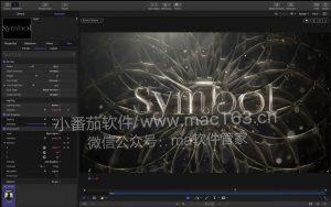 Motion 5 苹果视频后期特效制作软件