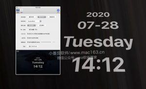 OneClock 翻页时钟/屏幕时钟 中文破解版下载