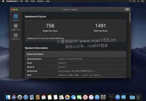 Geekbench 5 mac性能测试软件