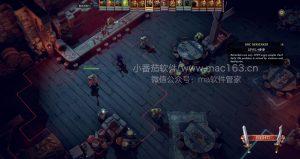 Mac游戏 纳赫鲁博王国地下城 中文破解版下载