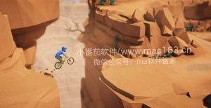 Lonely Mountains Downhill Mac版