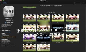 FxFactory for Mac 视觉效果包插件合集