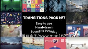 Liquid Transitions Pack 07 FCPX特效插件