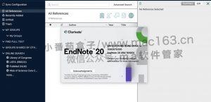 EndNote 20 Mac版 文献管理软件