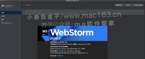 WebStorm 2020 Mac版