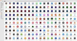苹果 icons高清图标下载