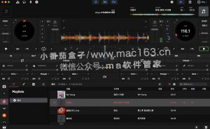 djay Pro AI DJ混音合成软件 Mac版