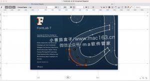 FontLab 7 字体设计编辑器