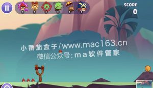 Angry Birds Reloaded Mac版 愤怒的小鸟