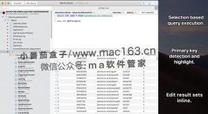 SQLPro Studio Mac版 数据库管理软件